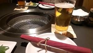 梅田焼肉嬉野さんのお箸